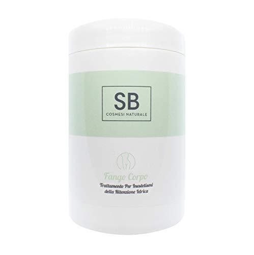 Seta Beauty Fango Corpo Ritenzione Idrica da 1000 ml con Estratto di Edera Biologica, Olio Essenziale di Rosmarino e Caffeina Levigante Tonificante AntiCellulite Green Biocosmesi