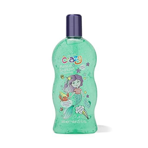 Kids Stuff Crazy Bagnoschiuma con bolle cambia colore, magico unicorno scintillante, 300 ml