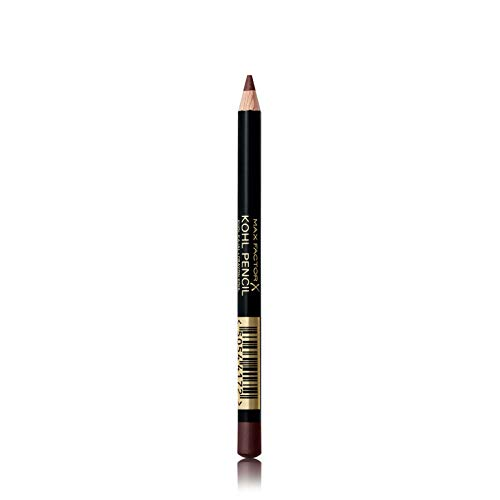 Max Factor, Matita Occhi Kohl Eyeliner Pencil, Kajal con Texture Ultra Morbida, 030 Brown, 1.2 g