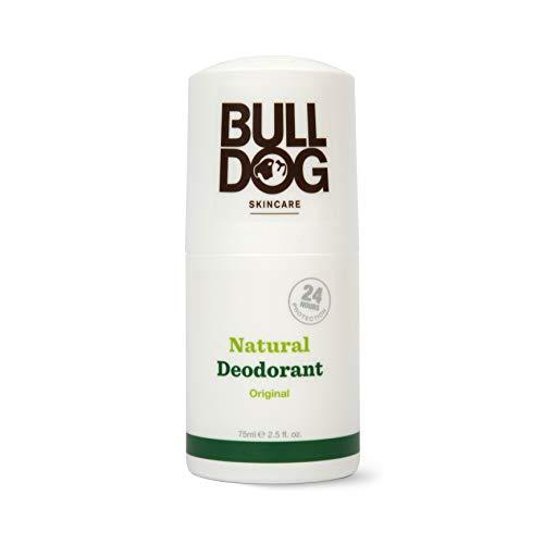 Bulldog Deodorante Naturale Original 75 ML- Deodorante profumato per uomo con ingredienti naturali