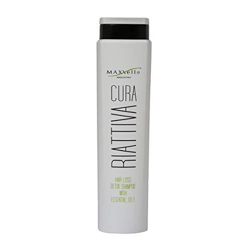 Maxxelle Cura - Shampoo detossinante anticaduta agli oli essenziali (250ml)