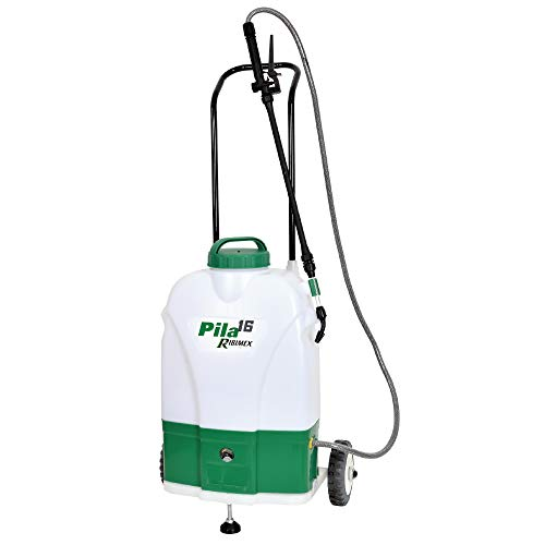Ribimex 016219 Nebulizzatore Elettrico su Ruote 16 Litri'Pila 16'