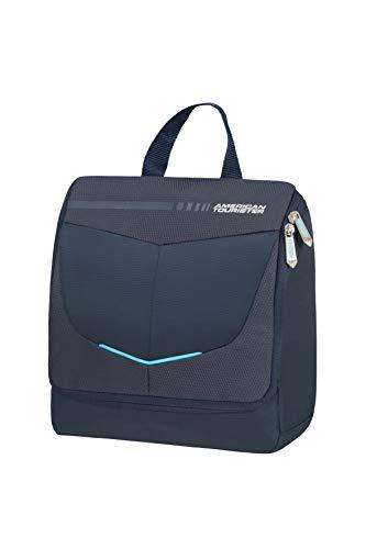 American Tourister Summerfunk Accessori da Viaggio- Kit di Prodotti per l'Igiene Personale, Taglia Unica, Blu (Navy)