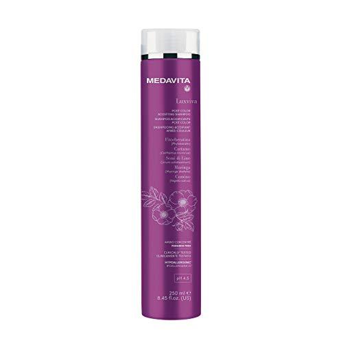 Medavita - Luxviva Color Care- Shampoo Acidificante Post Color Ph 4.5, Clear, 250 Ml