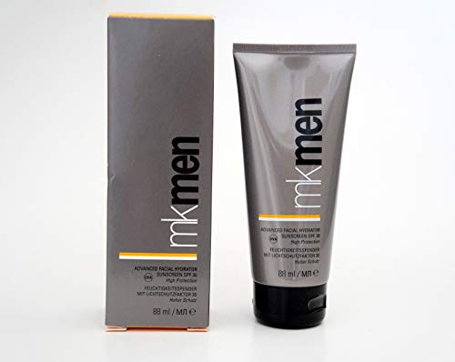 Mary Kay MK Men Advanced Facial Hydrator SPF 30 Fluido idratante con SPF 30, 88 ml, MHD 2020/21