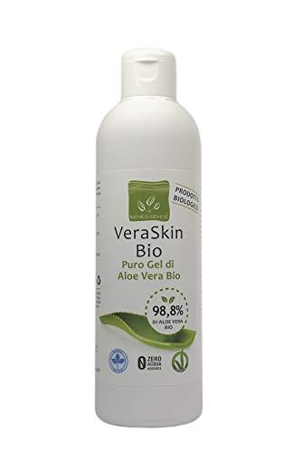 Benessence Puro Gel Biologico di Aloe Vera - Rinfrescante - Lenitivo - Ammorbidente - Ristrutturante da 250 ml
