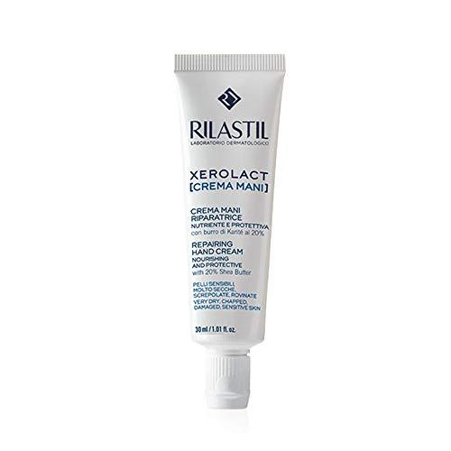 Rilastil Xerolact - Crema Mani Riparatrice Nutriente E Protettiva, 30ml