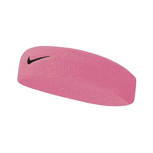 Nike Swoosh - Fascia per capelli, unisex, taglia unica, colore: Rosa