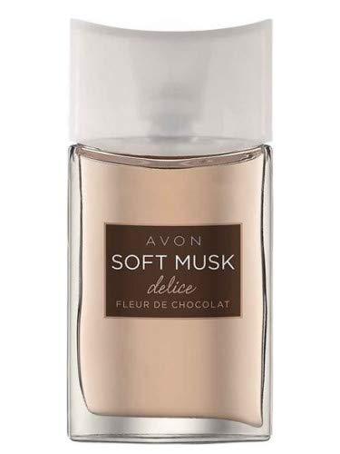 AVON Soft Musk Delice Fleur de Chocolat Eau de Toilette Da Donna 50ml