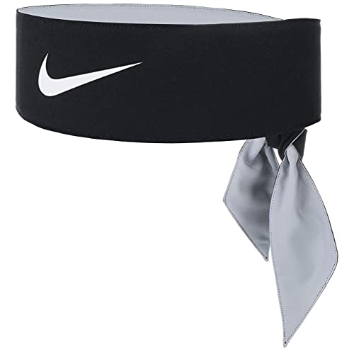 Nike 9320/8 - Fascia da tennis, unisex, taglia unica, colore: Nero/Bianco