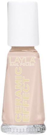 Smalto Layla Ceramic Effect N.2 White Peach Nail Polish by LAYLA COSMETICS