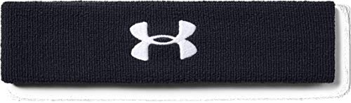 Under Armour UA Performance, Fascia Uomo, Nero (Black/White), Taglia unica