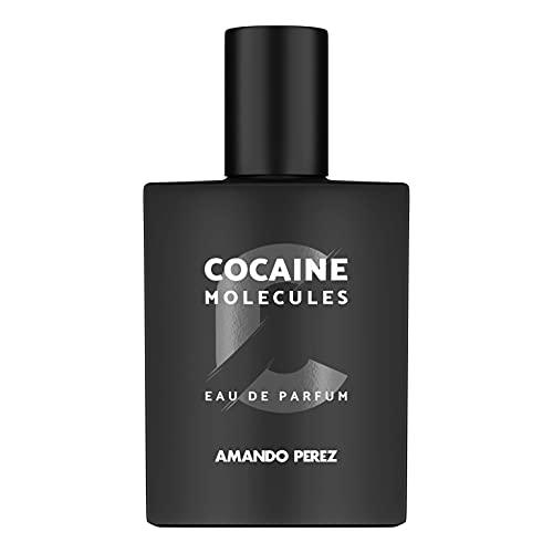 Amando Perez COCAINE Molecole (50 ml) • Profumi con Feromoni • Eau de Parfum Unisex • Profumo Attrattivo per Uomo e Donna