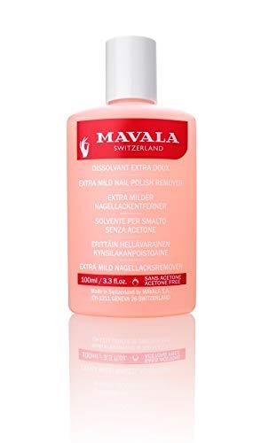 Dissolvant Extra Doux (Rose) di Mavala, Solvente Donna - Flacone 100 ml.