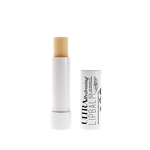 PUROBIO - Balsamo Labbra Ultra Idratante per Labbra secche e screpolate - Burrocacao Vegano e Nickel Tested