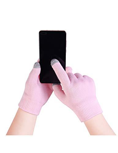 Donfri Guanti idratanti in gel, guanti in cotone, maschera per mani con lozione idratante per mani secche e screpolate, guanti Beauty Spa touchscreen