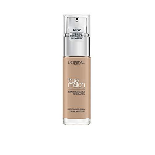 L'Oréal True Match Fondotinta Liquido, 3.C Rose Beige, 30 ml