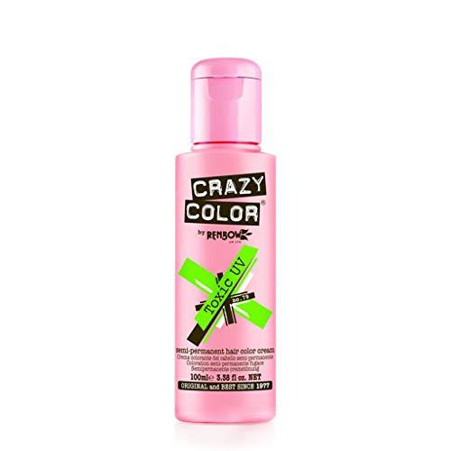 Crazy Color Crema Colorante Per Capelli Semipermanente (Uv Tossico - 100Ml