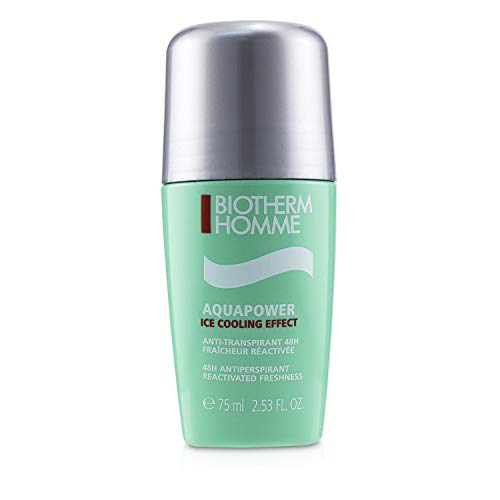 Biotherm Homme Aquapower Deodorante Roll-on, 75 ml