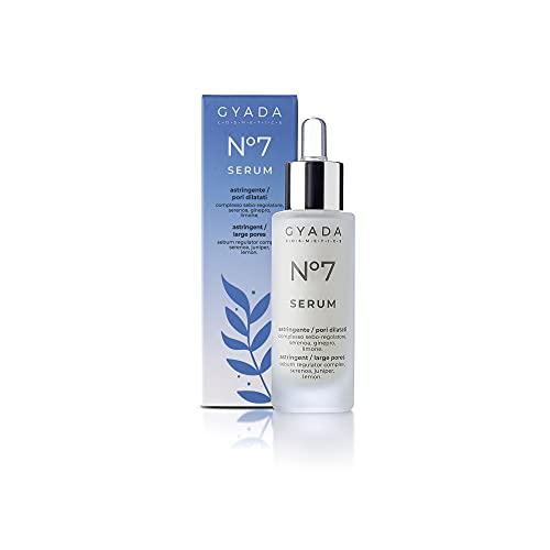 Gyada Cosmetics SIERO VISO N. 7 ASTRINGENTE/PORI DILATATI ● CERTIFICATO BIO ● MADE IN ITALY ● 30 ml