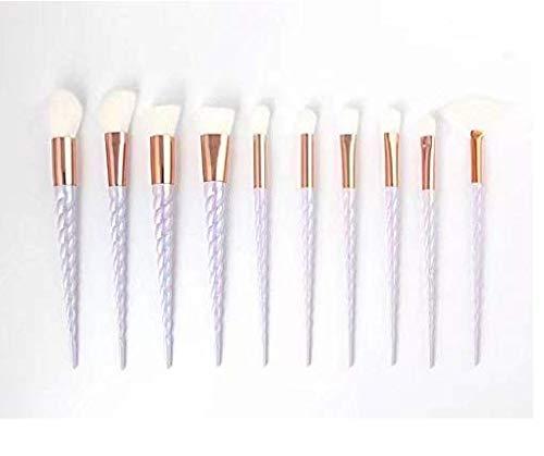 Doyeemei 10 pennelli pennello per trucco in polvere contorno correzione blush pennello per fondotinta pennello per trucco