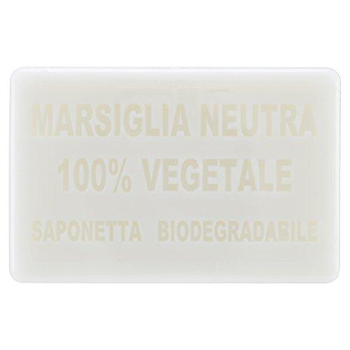 White Castle Saponetta Marsiglia Neutra 100% Vegetale, 200g