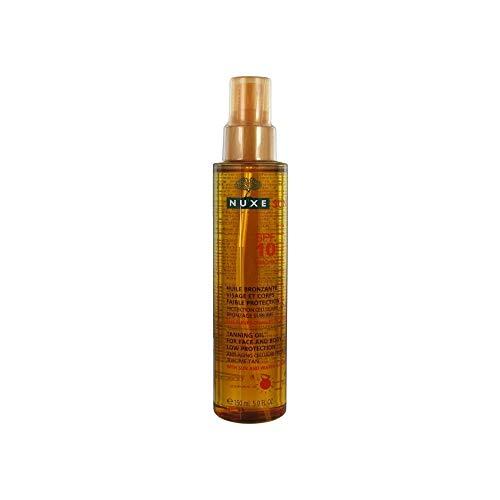 NUXE Sun Huile Bronzante SPF10 Olio Abbronzante, 150 ml