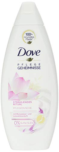 Dove, Rituale di cura radiosa in doccia, Gel Doccia, Confezione da 6 (6 x 250 ml).