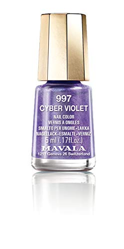 Mavala Nail Polish Cyber Chic Collection Cyber Violet 15ml
