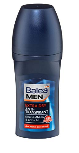 Balea Men Deo Roll On Antitraspirante Extra Dry, 1 x 50 ml