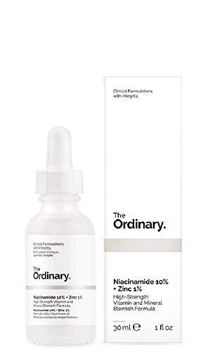 The Ordinary - Siero antirossore, niacinamide 10% + zinco 1%, 30ml, formulazione clinica con integrità