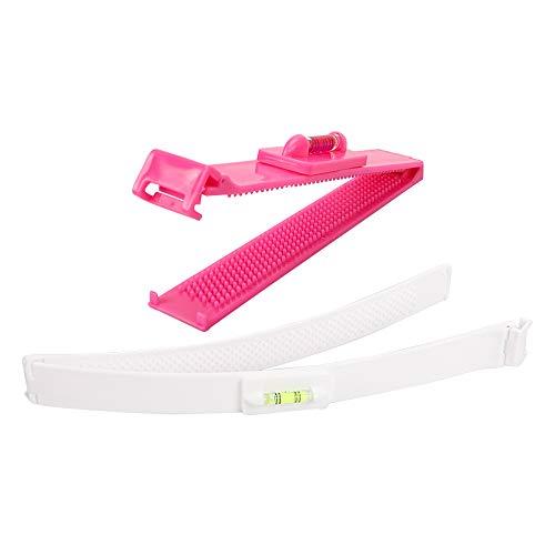 Strumento di taglio professionale fai da te per la casa Trimmer Styling Clip,Kit di taglio dei capelli Clip Trim Bang Cut fai da te Home Trimmer (rosso)