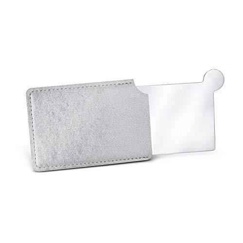 Römer Wellness 4TS01-20 - Specchio tascabile in acciaio INOX