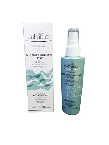 Euphidra Olio Corpo Snellente 145 ml Anticellulite