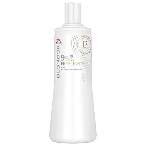 Wella - Blondor Freelights Developer 9% 30 Vol. - Linea Blondor Decoloranti - 1000ml