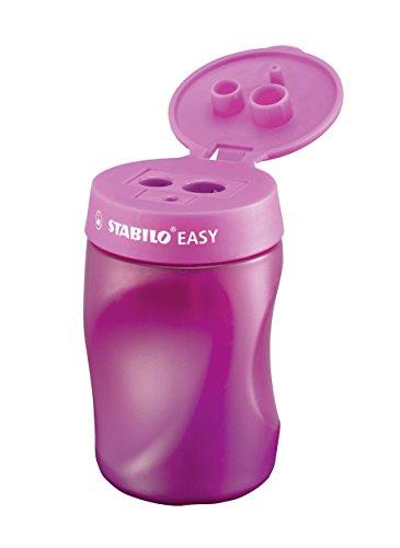 Temperamatite Ergonomico - STABILO EASYtemperino per Destrimani - Rosa