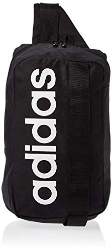 adidas DT4823 - Borsa Messenger Unisex Adulto, Multicolore (Negro / Negro Blanco), 23x3.5x20 cm (W x H L)