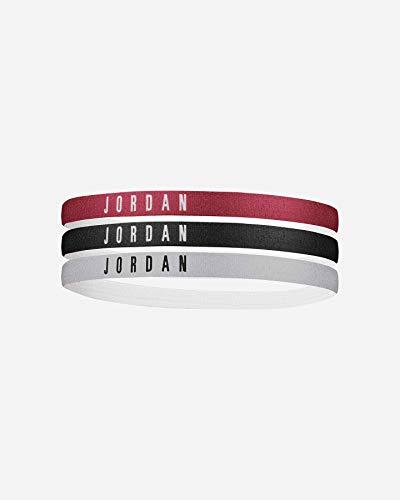 Jordan, Headbands 3pk Fascia per la Testa Unisex adulto, multicolore, Taglia unica