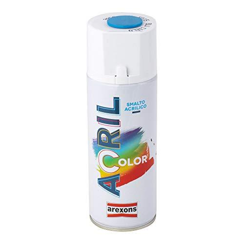 Arexons RXS109 3952 Acrilcolor RAL 5015, Blu Cielo, 400 ml