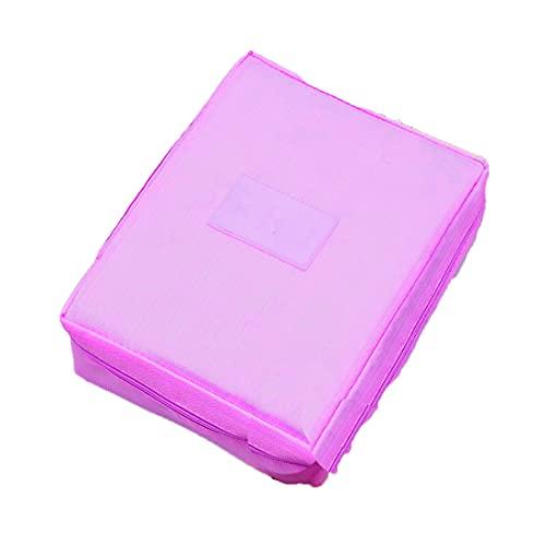 Ducomi® Travel Season Beauty Case - Borsa da Viaggio - Organizzatore Viaggio Unisex - Misura: 22 x 17 x 8 cm (Hot Pink)