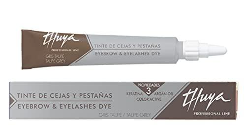 Thuya Eyebrow & Eyelash Dye (14ml) Taupe Grey - Tinta rigenerante in Crema con Cheratina, Aloe e Argan