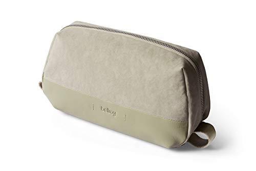 Bellroy Dopp Kit Premium (finiture in pelle, articoli per la persona, accessori per la rasatura, spazzola per capelli, spazzolino da denti) - Lichen