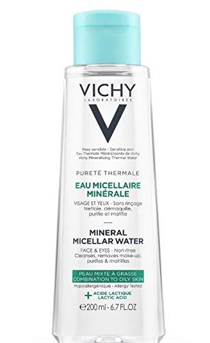 VICHY PURETE THERMALE Acqua micellare viso e occhi pelli miste e grasse 200 ml