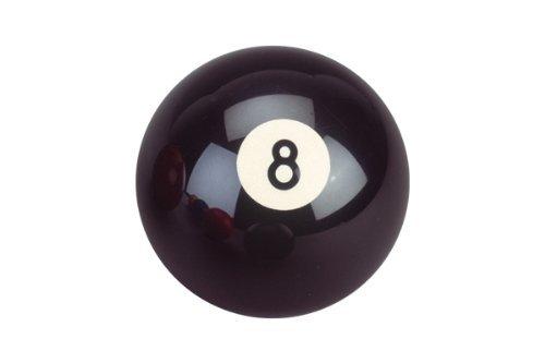 Classic Palla da biliardo Nr. 8, Colore Nero, Diametro 57,2 mm
