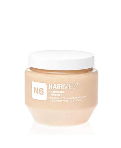 HAIRMED - N6 Maschera Capelli Colorati Nutriente - Impacco per Capelli Secchi e Trattati - 250 ml