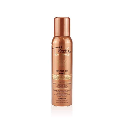 That'so On The Go Dark - Spray Autoabbronzante per Viso e Corpo, abbronzatura naturale bronzea - 125 Ml