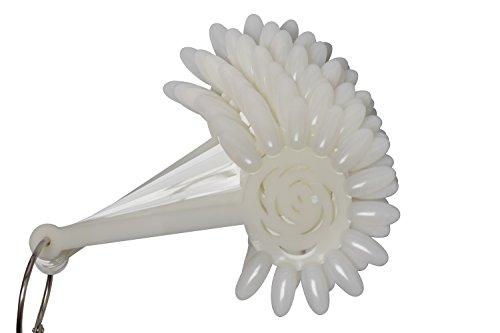 Campione di unghia di fiore. Gel Polish. Espositore per smalto