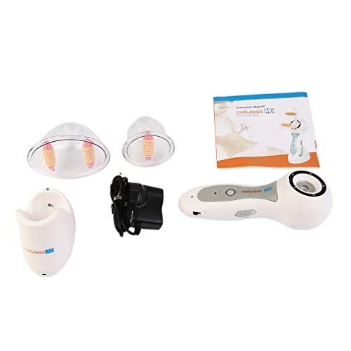 Vacuum Therapy Massage Massaggiatore per liposuzione Succhiare Strumento per massaggi Bianco e grigio