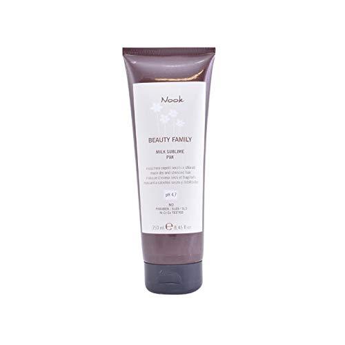 Nook Beauty Milk Sublime Maschera 250 ml per capelli asciutti e geschädigtes - senza parabeni, allergeni nichel, cromo e cobalto testato