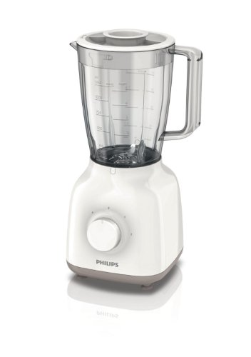 Philips HR2100/00 Frullatore con ProBlend 4 - Daily Collection - Plastica